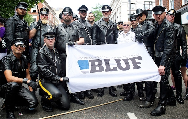 BLUF at Pride 2015